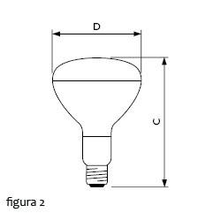 Lâmpada infravermelho PAR Philips