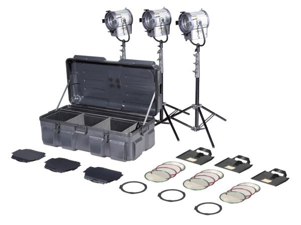 KIT TUNGSTEN FRESNEL 1000W JUNIOR 3