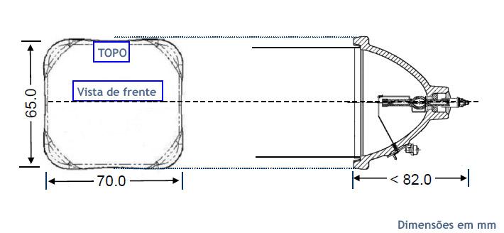 Lâmpada P-VIP 120-132/1.0 P22ha