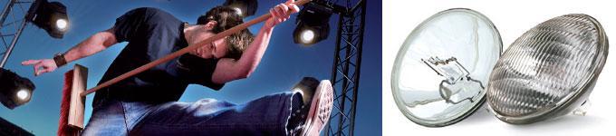 Iluminação de Eventos com as lâmpadas PAR 64 120 Philips