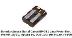 CANON-BP511 - Bateria Câmera Digital BP-511