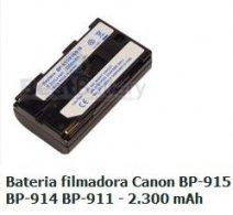 CANON-BP915 - Bateria Filmadora BP-915