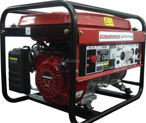 EP2700 - Gerador � gasolina 3 kva monof�sico partida manual motor Honda GX160