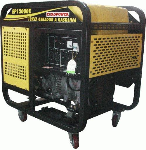 EP12000E - Gerador à gasolina 4 tempos monofásico 11.5 kva partida elétrica