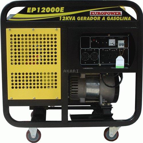 EP12000E3 - Gerador à gasolina 4 tempos trifásico 11.5 kva partida elétrica