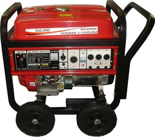 NG8000E - Gerador à gasolina monofásico 8 kva partida elétrica
