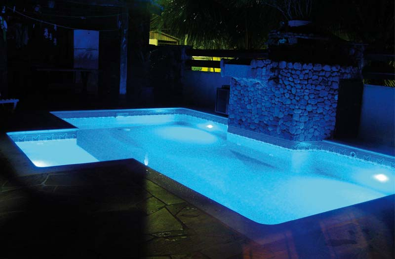 Akari leds decorativos lumin ria para piscina rgb 9 for Luminarias para piscinas