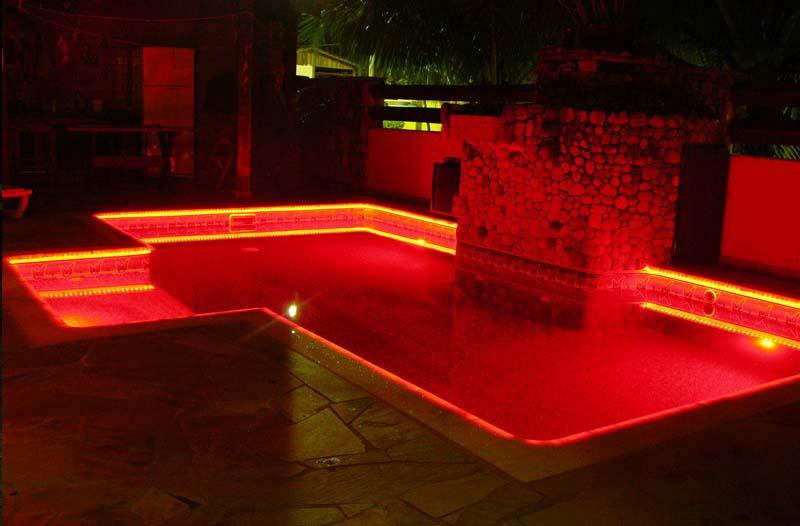 Akari leds decorativos lumin ria para piscina rgb 9 for Led para piscinas