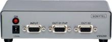 Distribuidor de Sinal VGA/SVGA 1x2 Saídas - VSS200