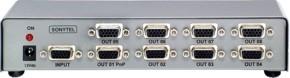 Distribuidor de Sinal VGA/SVGA 1x8 Saídas - VSS800