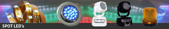 Sistema de sinalizações com LED's