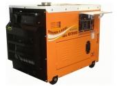 Cod.:ND7000ES - Nome:Gerador a diesel monofásico 6.0 kva partida elétrica silenciado