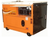 Cod.:ND7000ESQTA - Nome:Gerador a diesel monofásico 6.0 kva partida elétrica silenciado cabinado com QTA