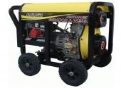 Cod.:ND7000E3QTA - Nome:Gerador a diesel trifásico 6 kva partida elétrica QTA