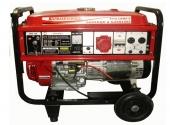 Cod.:EP6500E - Nome:Gerador à gasolina 6 kva monofásico partida elétrica motor Honda GX390