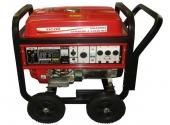 Cod.:NG8000E - Nome:Gerador à gasolina monofásico 8 kva partida elétrica